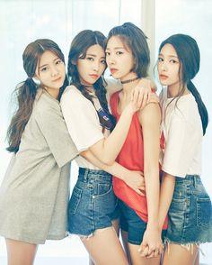 DIA Eunchae, Heehyun, Eunice & Jenny