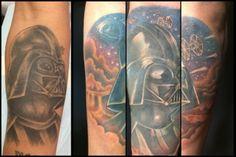 Sci-Fi Tattoos Bring Star Wars Fans Together Darth Vader Tattoo, Tattoo Fixes, Latest Tattoos, Tattoo Blog, Sci Fi, Star Wars, Bring It On, Stars, Science Fiction