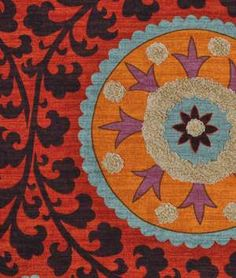 3 Park Tribal Thread Sunset Fabric