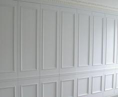 Wall paneling hidden storage