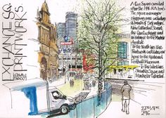 #USkManchester2016: Day1: Registration and Opening Event | Urban Sketchers