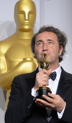 """Paolo Sorrentino 2014 Director """"The Great Beauty"""" scooping the Academy Award for Best Foreign Language Film,"""