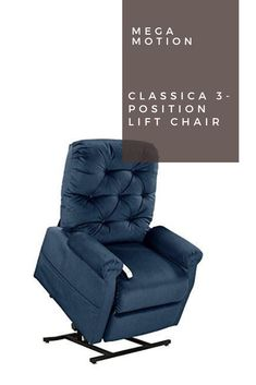 Lift chairs assist those who have difficulty standing up from their chairs. The Mega Motion Classica Lift Chair will assist you safely and with ease. Luxury Home Furniture, Furniture For You, Recliner, Armchair, Positivity, Home Decor, Chair, Womb Chair, Homemade Home Decor