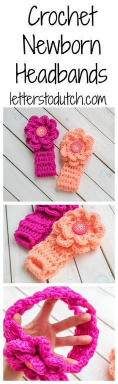 Visit us for a free tutorial and patterns for these cute crochet newborn…