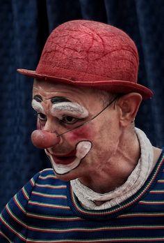 clown by Daniel Jimenez, via 500px