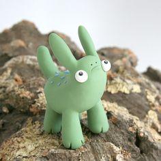 "Polymer Clay Monster, ""Beastlies"" @Etsy by Leslie Levings"