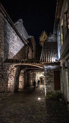 Catherine´s passage, Tallinn, Estonia