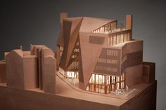 lse saw hock student centre - london - o'donnell + tuomey - 2013 - model