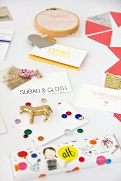 more party-in-a-card business cards