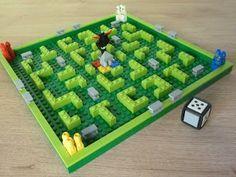 Totobricks: LEGO 3841 LEGO BOARD GAMES Minotaurus Lego Board Game, Lego Boards, Board Games For Kids, Activities For Kids, Crafts For Kids, Busy Board, Game Ideas, Game Design, Legos