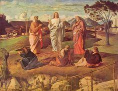 Giovanni Bellini- Transfiguration of Christ, c. 1487