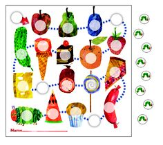 The Very Hungry Caterpillar™ Mini Incentive Charts by Carson Dellosa- Track student progress with assignment, behavior, goals, and so much more with the fun themes of the mini incentive charts. Includes 630 colorful stickers!
