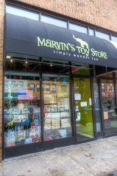 Marvin's Toy Store sells toys and games that fall under the categories of socially responsible, fair trade, organic, recycled, parent-crafted, green and/or natural, downtown Crystal Lake, marvinstoystore.com. Photo: danwiegel.com