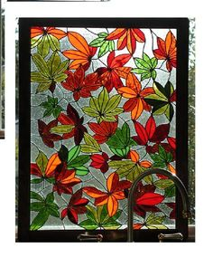Leaves - Delphi Stained Glass