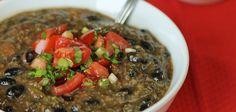 black bean & quinoa soup