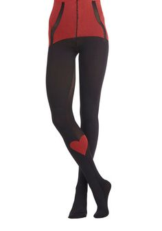 Love Poses No Bounds Tights, #ModCloth