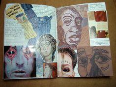 sketchbook detail Sketchbook Layout, Gcse Art Sketchbook, Sketchbook Inspiration, Sketchbook Ideas, Artist Research Page, Notebook Sketches, A Level Art, Art For Art Sake, Art Studies