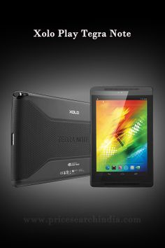 Xolo Play Tegra Note, the world's fastest tablet launched. Find out the price, Specification, features and review of this tablet.