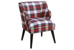 Kira Accent Chair, Stewart Dress | One Kings Lane