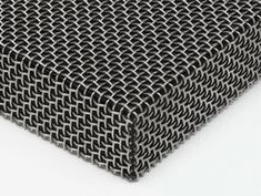 Wire mesh folded by Wire Mesh, Metal Mesh, Steel Barns, Edge Design, How To Remove, Screens, Plate, Iron, Ceiling