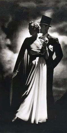 Fashion shot, 1936, London, photo by Horst P. Horst - detail