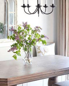 Enjoying Lilac Season Breakfast Nook, Outdoor Furniture, Outdoor Decor, Lilac, House Design, Seasons, Instagram Posts, Home Decor, Decoration Home