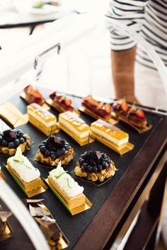 Dessert at Eden Roc | photo jamie beck