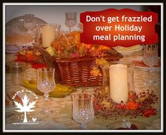 Maple Grove: Don't Get Frazzled Over Holiday Meal Planning!