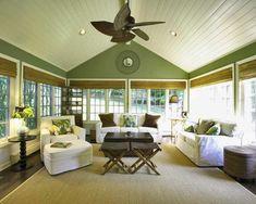großes wohnzimmer - mit gelben und weißen farbtönungen streichen weiße möbel