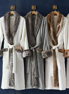 luxe bathrobes