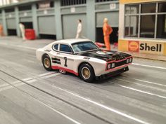 hO Slot Car Ford Capri 2600RS 12h Paul Ricard 1971 #1