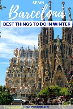 Pllanning a trip to Barcelona, Spain in winter? Check out the best things to do in Barcelona in winter.