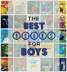 Great list of over 30 chapter book series for boys ages 6-12