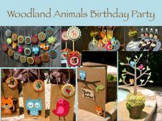 woodland creatures birthday party | Add it to your favorites to revisit it later.