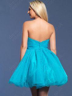 blue homecoming dress