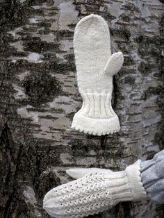 Pitsilapaset nirkkoreunalla Novita 7 Veljestä | Novita knits