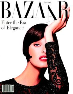 linda  harper's bazaar 1992  one of the all time best covers
