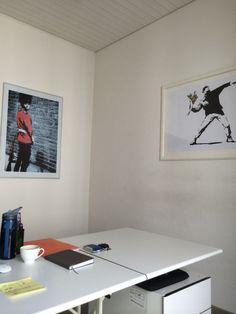 Banksy at my Office Gnocchi GmbH - Digital Marketing in Zürich