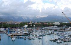 View from Marina di Carrara