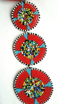 - The pendant is handcrafted using fine beads. The length of the necklace is 20 inches long and - Wood Earrings, Leaf Earrings, Beaded Earrings, Rope Jewelry, Native Beadwork, African Jewelry, Handmade Flowers, Bead Art, Beading Patterns