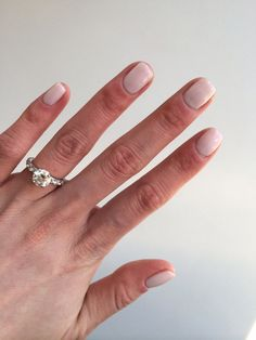 Ringing in Spring with CND Romantique nails.