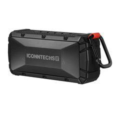 Amazon | ICONNTECHS IT(JP) スポーツ(IPX6防水/防塵評価、6-8時間プレイタイム)屋外ポータブルのブルートゥース4.0スピーカー/シャワースピーカー (黑) | デジタルオーディオ用スピーカー オンライン通販