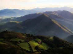 Galicia, Spain, El Camino de Santiago   ~ St Jean Blurry Valley