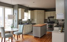 Oh So Lovely: OUR $500 DIY KITCHEN REMODEL.