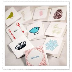 Living Life as Art: Free Printable Artist-made Gift Tags - over 135 Sheets Worth!