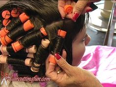 Part 1 - Celia Cyanide's Real Perm, Roller Set, and Beehive Salon Pictures, Roller Set, Perm, Beehive, Hair Styles, Beauty, Photos, Salon Marketing, Hair Plait Styles