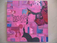 Pintura e colagem 2010