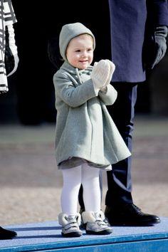 Princess Estelle, March 12, 2014 | The Royal Hats Blog