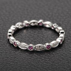 6b3681866cf4 Antique Style Ruby Ring 14K Антикварные Кольца, Алмаз Обручальные Кольца,  Кольца С Бриллиантами,