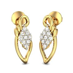 Caren Diamond Earrings